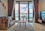 Location vacances Johor Bahru - Sea View 1 bed room condominium @ R&F Princess Cove (Near Ciq, Cs, Ksl)-1