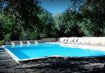 Camping avec Piscine Apt - Village Vacances La Colline des Ocres-2