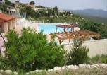 Villages vacances Porquerolles - Chalet dans parc de loisir avec piscine, vue panoramique-3