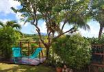 Location vacances Vieux Habitants - House with 2 bedrooms in Vieux Habitants with wonderful sea view enclosed garden and Wifi 2 km from the beach-3