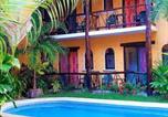 Hôtel Playa del Carmen - Hotel Bosque Caribe, 5th Av. zone-3