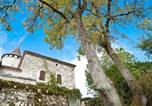 Location vacances Saint-Urcisse - Grand Castle in Saint Caprais de Lerm with Sauna & Jacuzzi-3