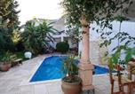 Location vacances  Tunisie - Villa with 4 bedrooms in Hammamet with private pool and enclosed garden-1
