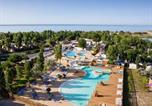 Camping avec Piscine couverte / chauffée Vendres - Camping Méditerranée Plage-1