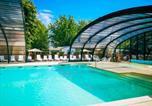 Camping avec Piscine couverte / chauffée Landes - Camping Landes Azur-2