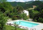 Location vacances  Province de Forlì-Césène - Lutirano Villa Sleeps 7 Pool Wifi-1