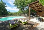 Location vacances Grospierres - Vinatge Holiday Home in Ardeche with Swimming Pool-4