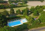 Camping avec Piscine Mauroux - Parc Résidentiel de loisirs Les Chalets des Mousquetaires-4