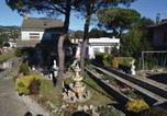 Location vacances Hostalric - Six-Bedroom Holiday home Macanet de la Selva with a Fireplace 03-1