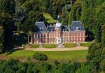 Location vacances Parc naturel régional des Boucles de la Seine Normande  - Appart Privé dans le Château du Landin-4