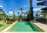 Location vacances Miami Platja - Villa with botanic garden in front of the beach-2