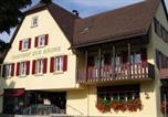 Hôtel Öhringen - Gästehaus Krone in Jagsthausen-1