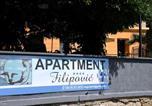 Location vacances  Croatie - Apartment Filipović 1-1