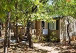 Camping avec Piscine couverte / chauffée Bédoin - Domaine des Chênes Blancs-4