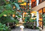 Hôtel Playa del Carmen - Hotel Bosque Caribe, 5th Av. zone-4