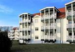 Hôtel Zempin - Ferienwohnung strandnah mit Balkon-3