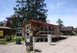 Camping avec Site nature Le Grand-Bornand - Camping La Pourvoirie des Ellandes-1