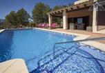 Location vacances El Castell de Guadalest - Bernia Villa Sleeps 6 Pool Air Con Wifi-1