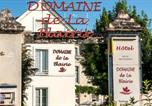 Hôtel Zoo de Doué la Fontaine - Logis Domaine De La Blairie-4