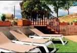 Location vacances Rubió - Calaf Villa Sleeps 10 with Pool-3
