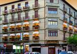 Location vacances Pamplona - Hostal Navarra-1