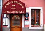 Hôtel Guebwiller - Hôtel Restaurant Le Moschenross-1