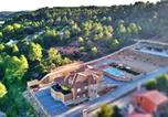 Location vacances Villar de Domingo García - Villa with 7 bedrooms in Villalba de la Sierra with wonderful mountain view private pool enclosed garden-1