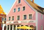 Location vacances Neumarkt in der Oberpfalz - Hotel Weisses Lamm-1