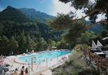 Camping avec Piscine couverte / chauffée Gap - Camping Rioclar-1