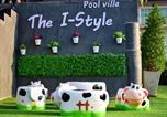 Location vacances Ban Chang - The I-style pool villa-3