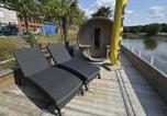 Hôtel Roncq - Woonboot aan de leie met sauna en jacuzzi-3