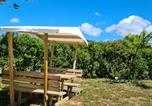 Camping avec Quartiers VIP / Premium Narbonne - Flower Camping Olivigne-3