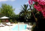 Location vacances Grimaud - Family house cogolin with private pool and child safty gate-1