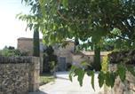 Location vacances Gordes - Mas Oréa côté piscine-1
