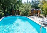 Location vacances La Bastide-d'Engras - Le Chalet de l'Uzège - Piscine, détente et ballades-2