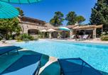 Location vacances Trans-en-Provence - Scenic Holiday Home in Taradeau with Private Swimming Pool-1