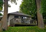 Location vacances Green Lake - Pickerel Cabin - Waterfront resort on Fremont Wolf River-1