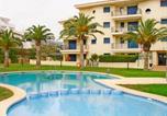 Location vacances Les Coves de Vinromà - Porta Mediterranea Bajo con terraza Albert Villas-2