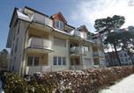 Location vacances Bad Saarow - Ferienwohnung Christiane in der Villa zum Kronprinzen direkt gegenüber der Saarowtherme-2