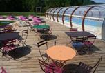 Camping avec WIFI Cravant - Camping Les Roulottes de Champagne -4