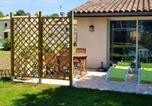 Location vacances Cézac - House with one bedroom in Bussac Foret with shared pool and Wifi-2