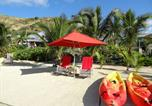 Camping avec Accès direct plage Guadeloupe - Villa Coccinelle-1