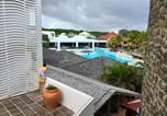 Hôtel Guadeloupe - Grand studio super équipé au Manganao vue mer-4