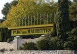 Camping avec Piscine couverte / chauffée La Colle-sur-Loup - Parc des Maurettes-2