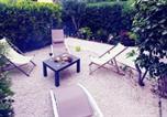 Agréable T3 à 300m de la mer et du centre ville, jardin privé sans vis à vis,parking,wifi
