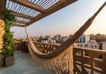 Location vacances Barranquilla - Unique large Loft Ph/ great city views/balcony/ long term only-4