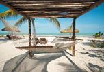 Hôtel Río Lagartos - Zomay Beachfront Holbox-4