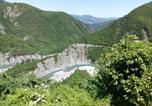 Location vacances Ferriere - El Mirador - Brugnello casa con vista a picco sul Trebbia-4