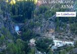 Location vacances  Albacete - La Libelula Ayna-1