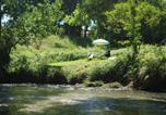 Location vacances Divajeu - Les pieds dans l'eau: Gîte Gervanne - Plage privée-1